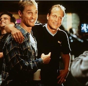 Antes de tantos años pero ya colegas para siempre, Matt y Woody en EdTv.