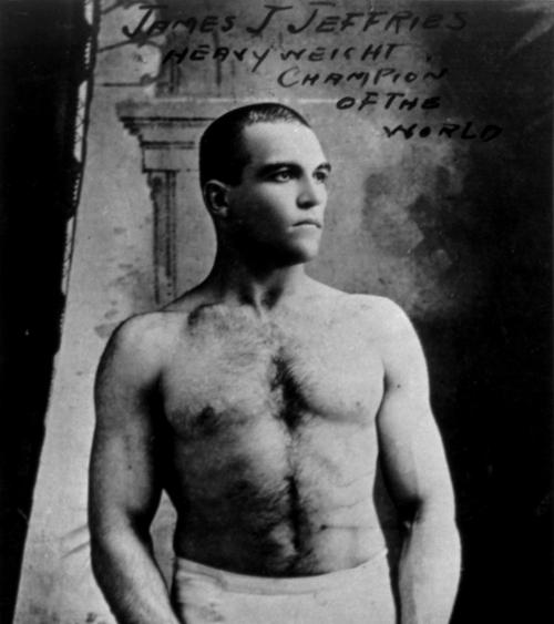 Jim Jeffries, cuarto campeón mundial de los pesos pesados, que se retiró invicto en 1905. (Foto: DP)
