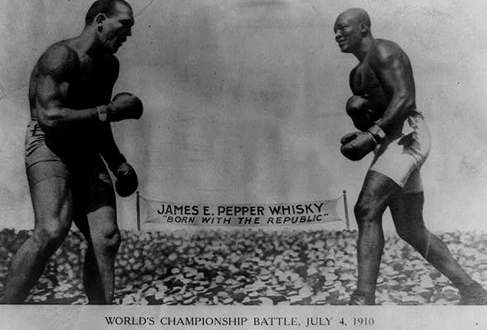 Jim jeffries vs Jack Johnson, la batalla de las razas (foto: DP)