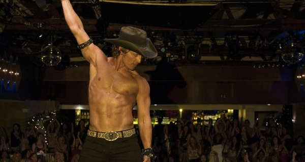 Matthew McConaughey en Magic Mike. En los contratos exige sombrero de ala ancha.