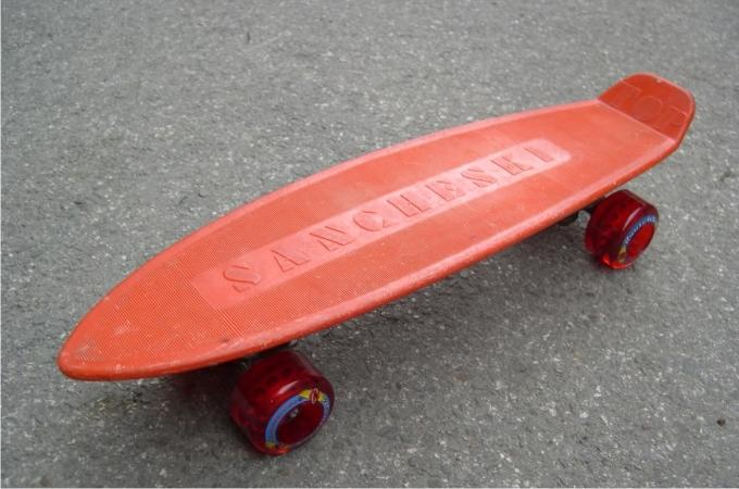 Skate TOP Sancheski naranja, un mito.