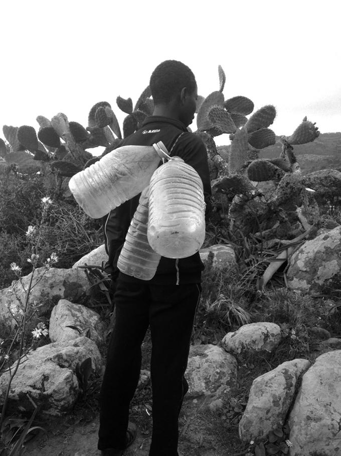A por agua