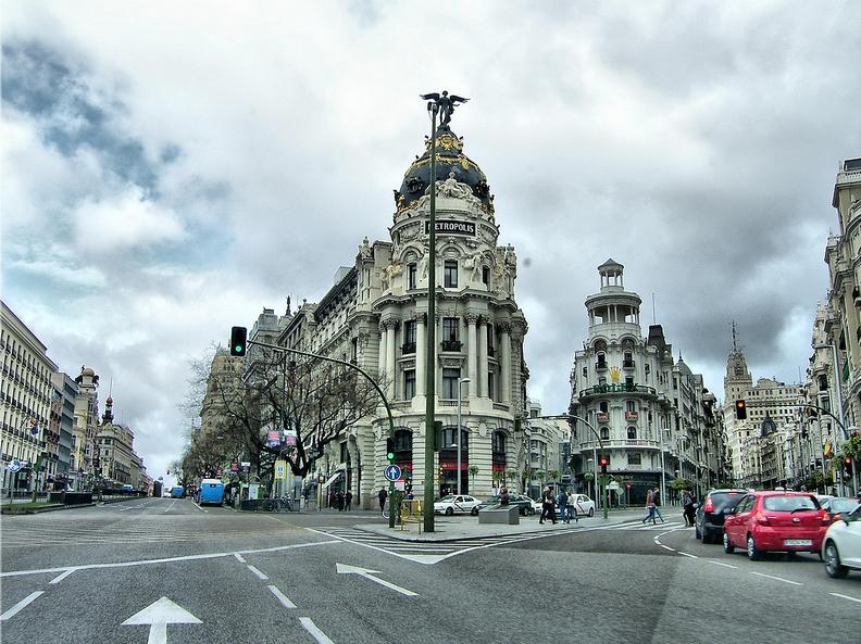Gran Vía de Madrid. Foto: José Luis Cernadas Iglesias (CC)