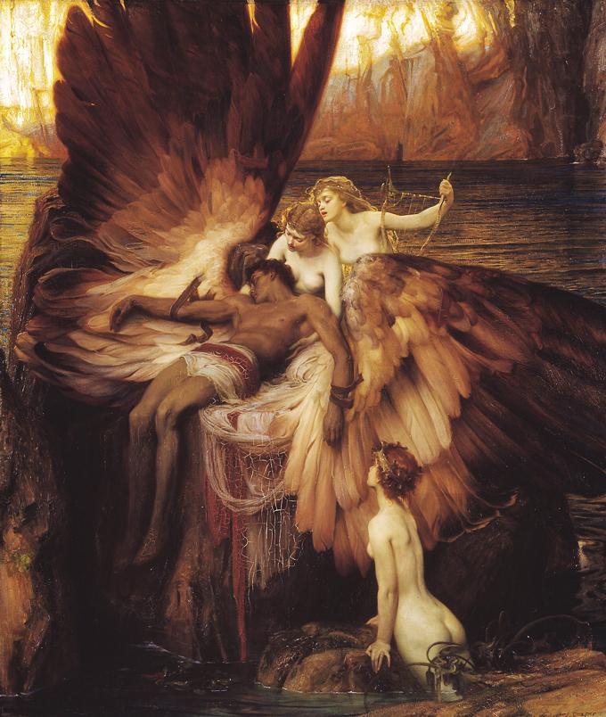 El lamento por Ícaro, Herbert James Draper, 1898 - Tate Britain DP