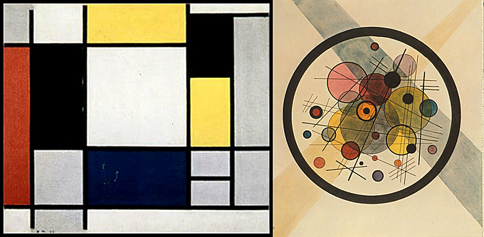 Fig2. Mondrian_vs_Kandisky