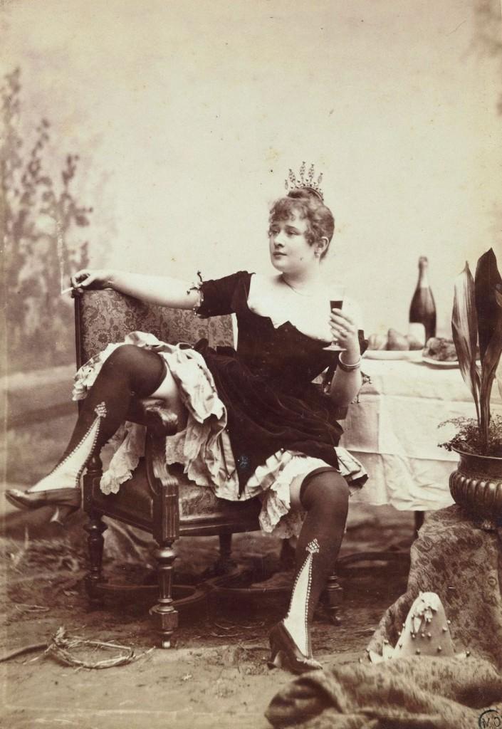 La Goulue en 1885. Louis Victor Paul Bacard Musée dOrsay DP