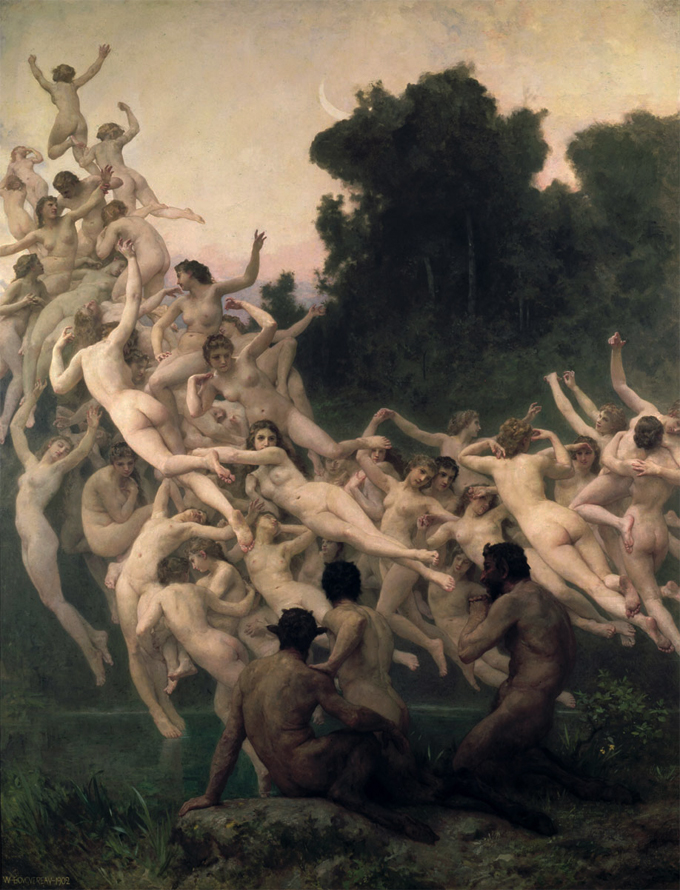 Las-Oréades,-de-William-Bouguereau-en-1902-(DP)