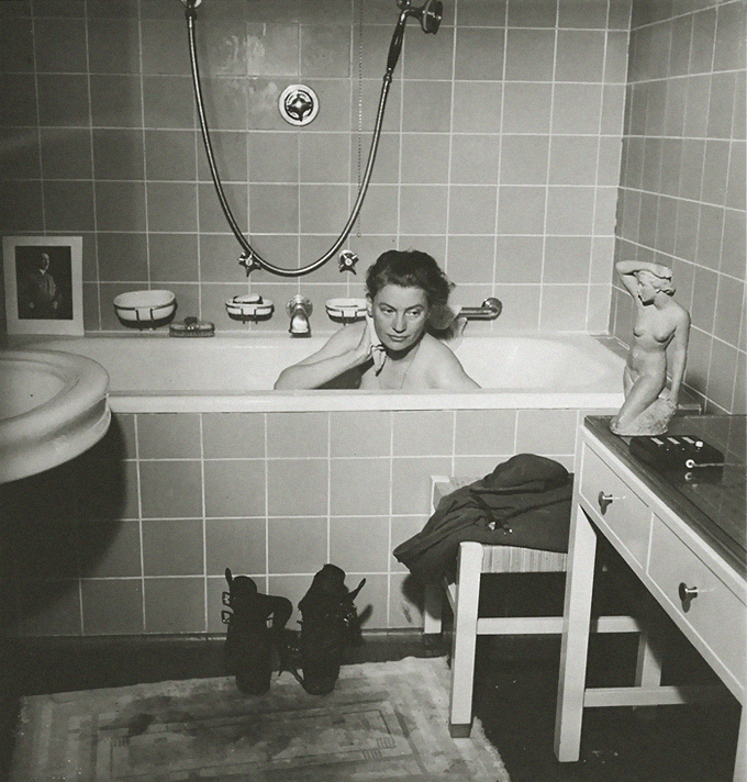 Lee Miller 1945. Fotografía David E. Scherman