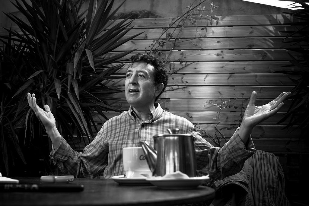 Manolo García: «Un mecenazgo cultural institucional es intromisión y es manipulación»