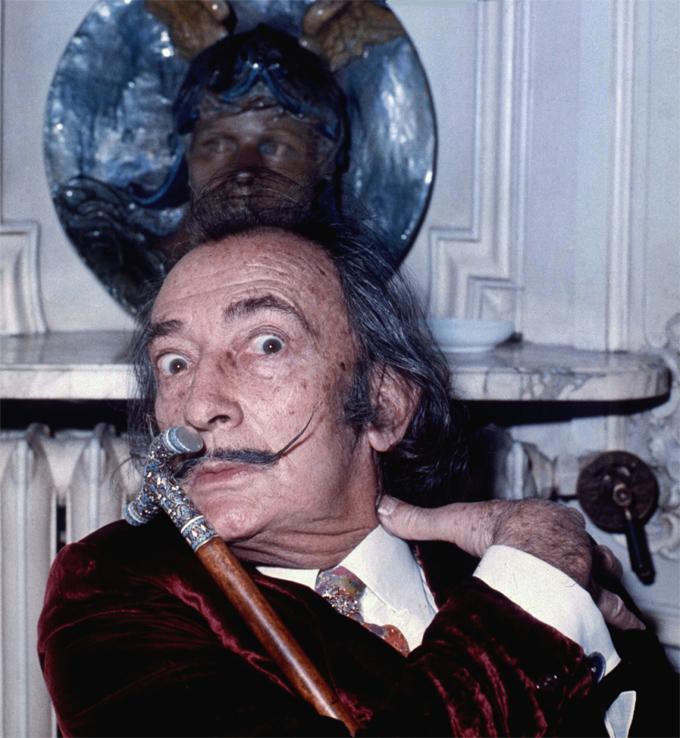 Salvador-Dalí-Fotografía-Allan-warren-CC