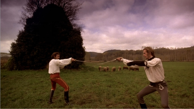 Los duelistas, de Ridley Scott, imagen de Paramount.