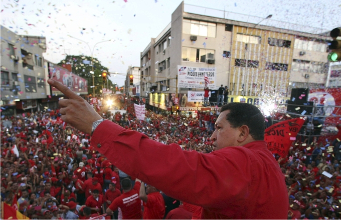 Hugo Chávez. Foto: Cordon Press.