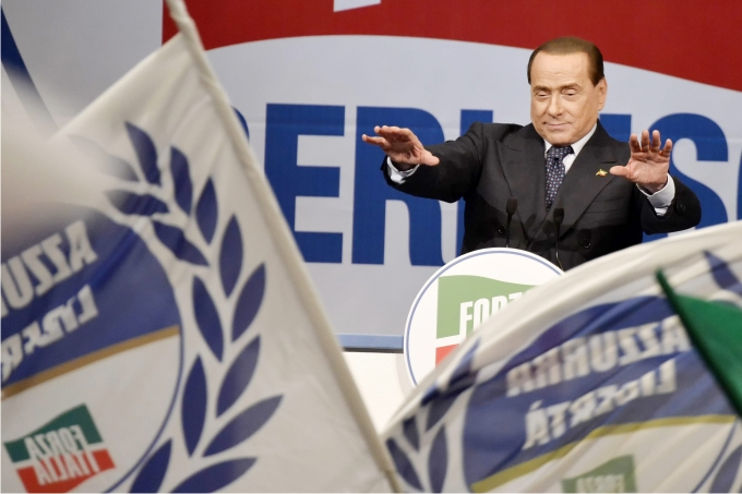 Silvio Berlusconi. Foto: Cordon Press.