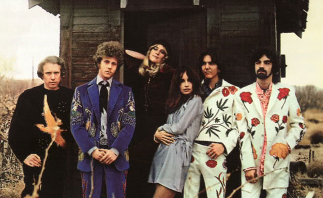 The Flying Burrito Brothers. Imagen A&M.