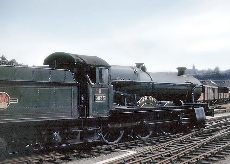 Una locomotora de vapor. Foto: Arpingstone (DP)