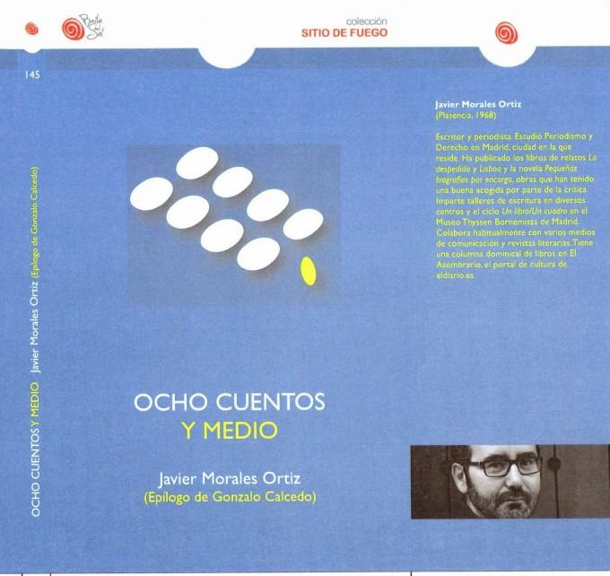 portada ocho cuentos y medio
