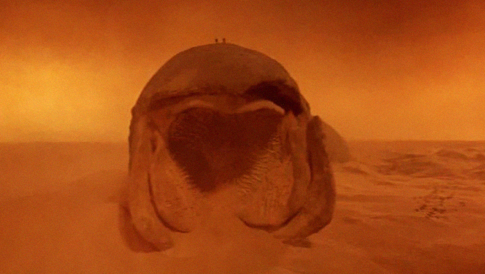 worm from dune