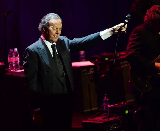 13 May 2014 London England UK Julio Iglesias performs at Royal Albert Hall Rune HellestadCorbis Cordon Press