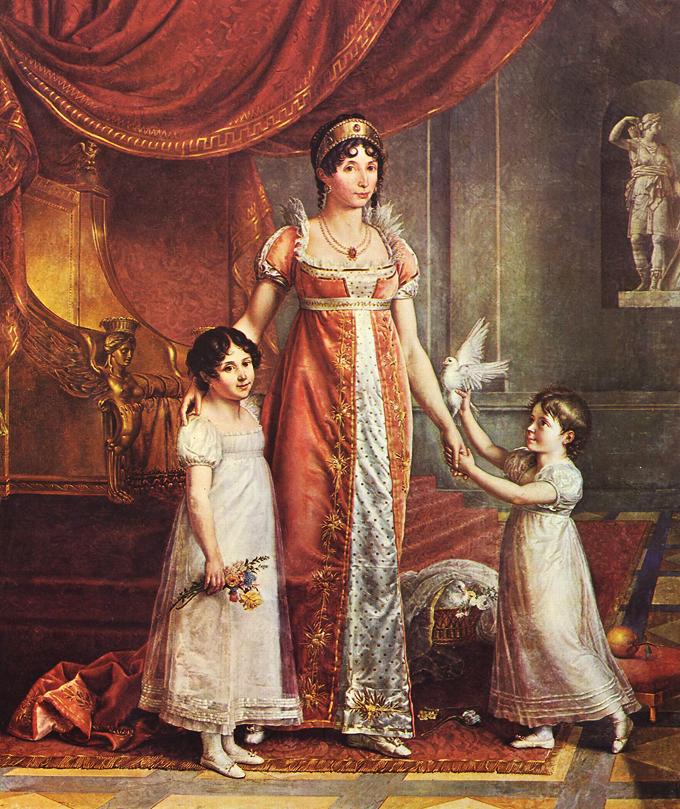 1809 julia bonaparte by Jean Baptiste Joseph Wicar 2