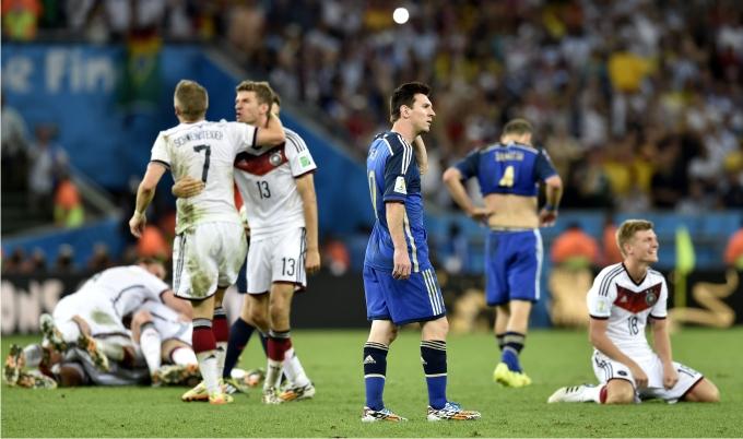 Final del Mundial de Brasil 2014. Foto: Cordon Press.