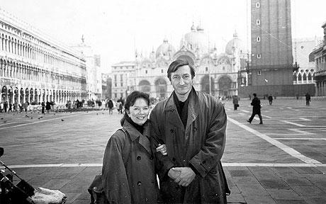 Julian Barnes y Pat Kavanagh. Foto: Cordon Press.