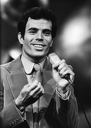Julio Iglesias en el Festival de Eurovisión de 1970. Fotografía Nationaal Archief CC