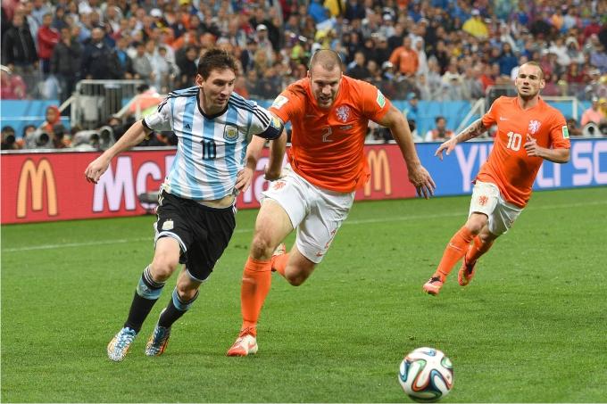 Semifinal entre Argentina y Holanda en el Mundial 2014. Foto: Cordon Press.