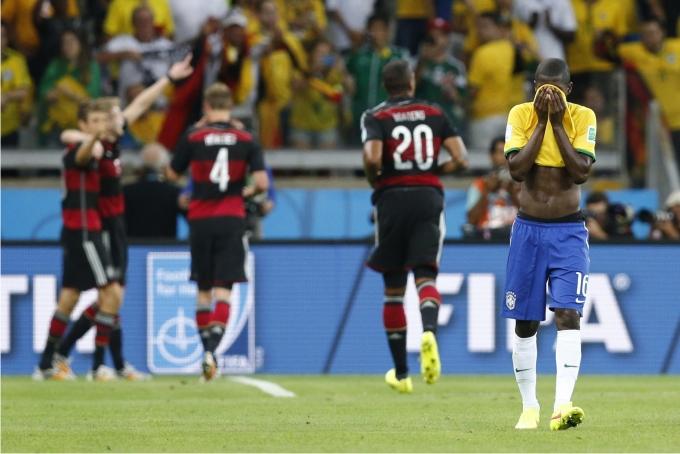 Semifinal entre Brasil y Alemania en el Mundial 2014. Foto: Cordon Press.