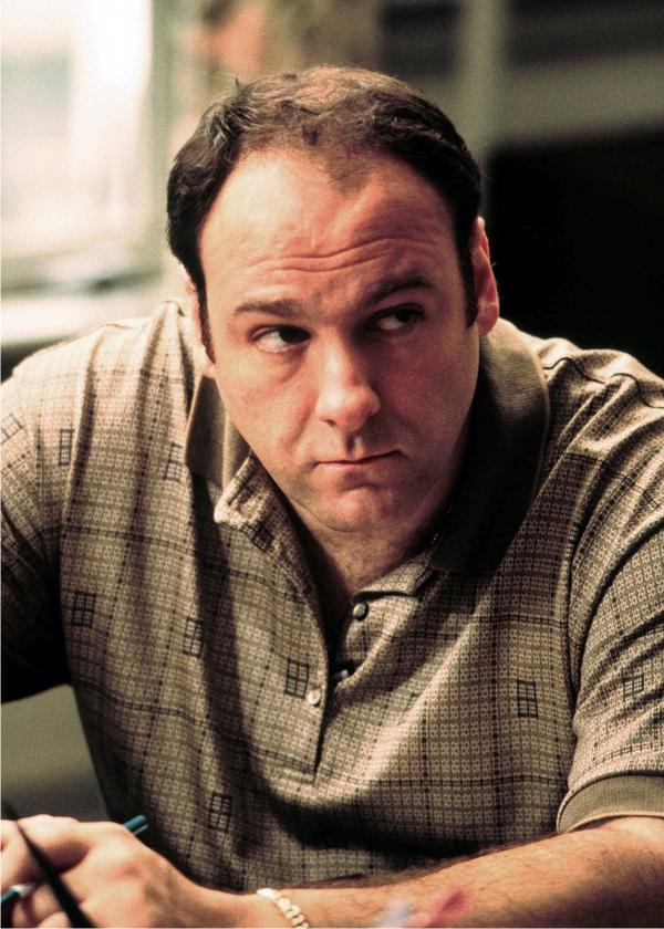 Tony Soprano. Imagen: HBO.