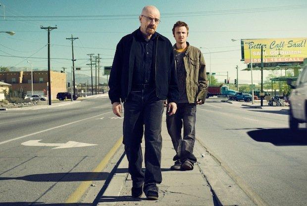 Walter White y Jesse Pinkman. Imagen: AMC.