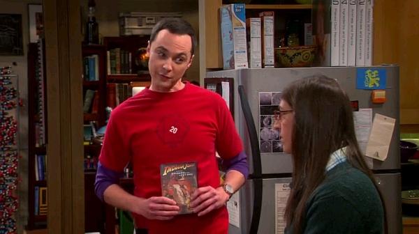 Amy a punto de perder su virginidad. The big bang theory Imagen: CBS
