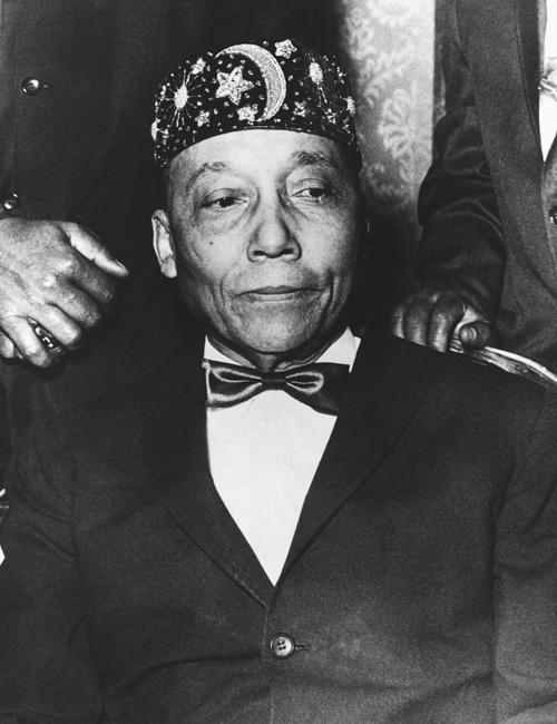 La relación entre Malcolm X y su líder Elijah Muhammad se vino abajo a principios de los sesenta (foto: Corbis).