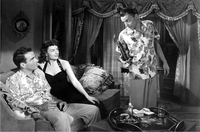 Frank Sinatra, Donna Reed y Montgomery Clift en De aquí a la eternidad (1953). Imagen: