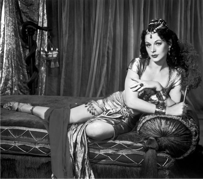 Hedy Lamarr en Sansón y Dalila. Imagen: Paramount.