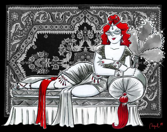 Ilustración de Raquel Garcia Ulldemollins.