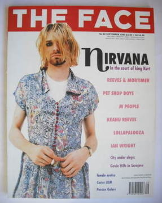 The Face magazine, septiembre 1993. Vol 2, Núm. 60. Foto cortesía de The Face.