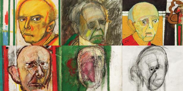 Utermohlen reflejó la evolución de la enfermedad de Alzheimer pintando autorretratos