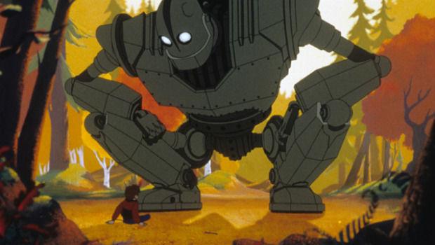Enternecedor, pero ha venido a acabar con tu especie. El gigante de hierro (1999) Imagen: Warner Bros Pictures.
