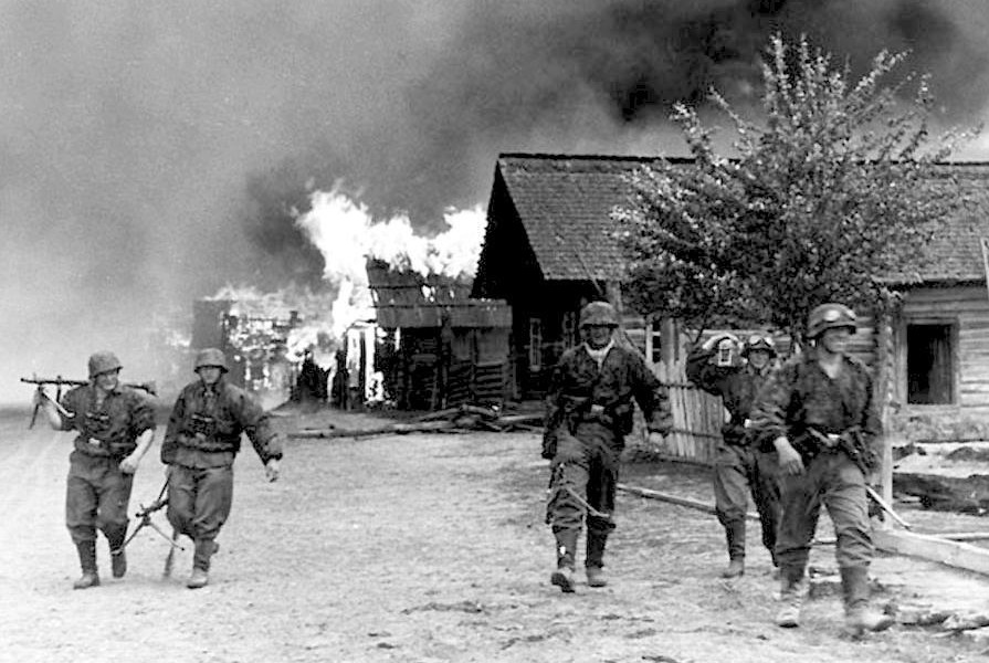 waffen SS eastern front scorched earth policy1