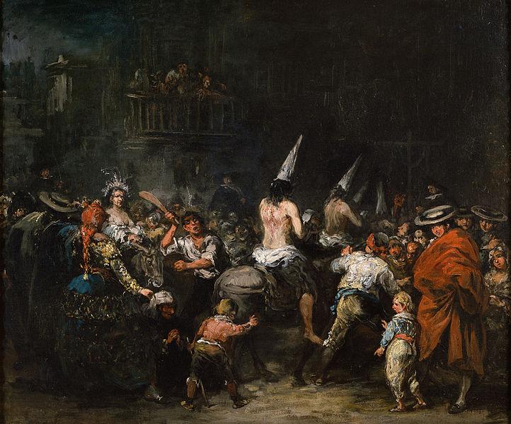 Condenados por la Inquisición, de Eugenio Lucas.