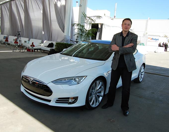 Elon Musk foto de Maurizio Pesce CC