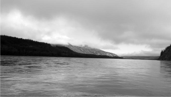 El Klondike en Dawson City. Foto: Diego Rasskin.