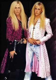 Los hermanos Nelson no molestaban a Tipper Gore. Imagen: Geffen Records.