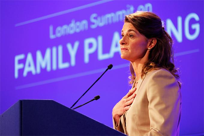 Melinda Gates UK Department for International Development CC