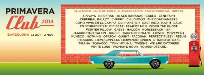 Primavera Club 2014 formato banner