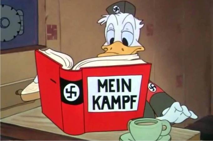 Der Fuehrer's Face,. Imagen: Walt Disney Productions.