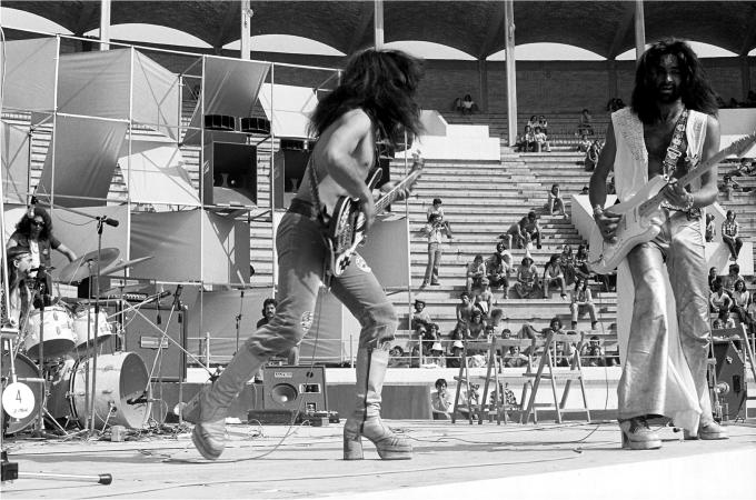 La segunda formación de Eva-Rock. Fotografía: Pep Rigol.