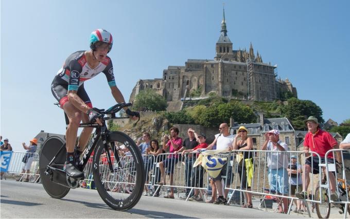 Andy Schleck en el Tour de 2013.  Foto: Cordon Press.