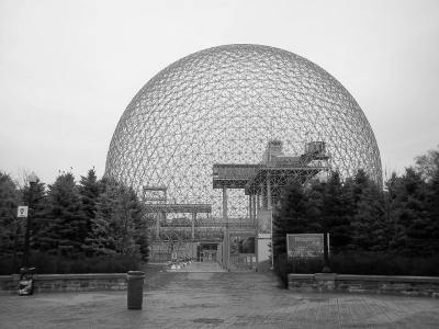 Biosphère de Montreal, concebida por Richard Buckminster Fuller.