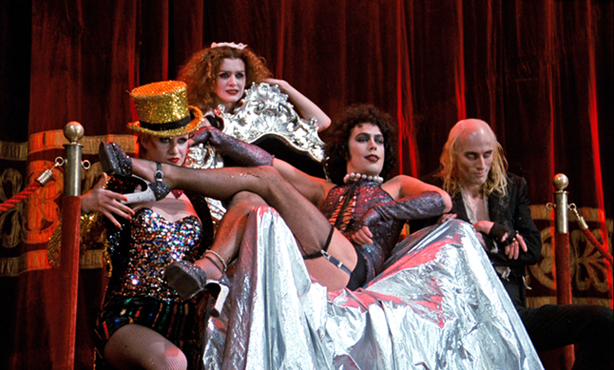 Escena de The Rocky Horror Picture Show. Imagen 20th Century Fox.
